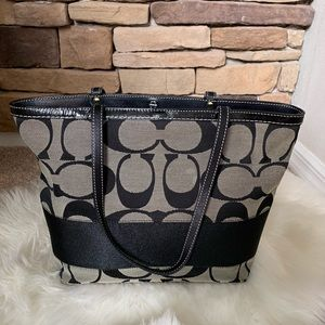 Coach shoulder purse